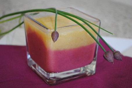 Erdäpfel-Gemüse-Cremesuppe -  (Foto: LK OÖ/Romana Schneider - Nicht zur freien Verwendung)