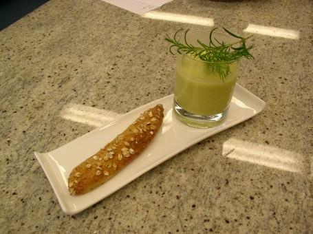 Zucchinicremesuppe -  (Foto: LK OÖ/Evelyn Puchner - Nicht zur freien Verwendung)
