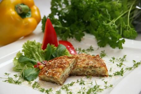 Käse-Dinkelflocken-Schnitzel -  (Foto: Bernhard Michal - Nicht zur freien Verwendung)