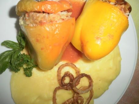 Gefüllte Paprika -  (Foto: Cilli Geißegger - Nicht zur freien Verwendung)