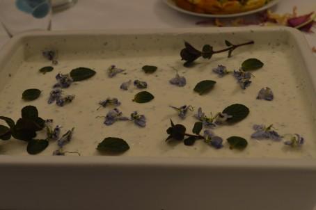 Wildkräutersorbet -  (Foto: Eva Maria Lipp - Nicht zur freien Verwendung)
