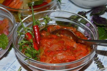 Gemüsesalsa -  (Foto: Eva Maria Lipp - Nicht zur freien Verwendung)