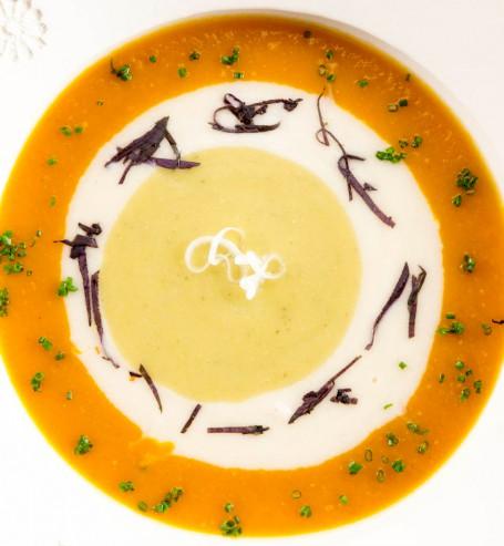 Kürbissuppe Tricolore -  (Foto: AV/Cadmos/Miguel Dieterich - Nicht zur freien Verwendung)