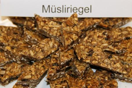 Müsliriegel -  (Foto: LKOOE/Evelyn Puchner - Nicht zur freien Verwendung)