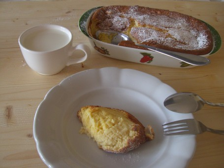 Rahmkoch gebacken -  (Foto: Eva Maria Lipp - Nicht zur freien Verwendung)