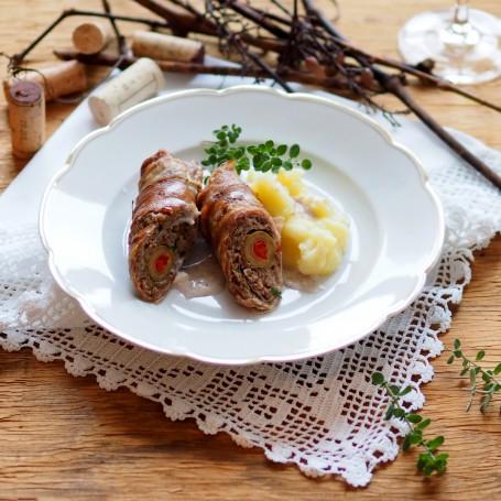 Pikante Schweinroulade -  (Foto: K&K/Andrea Jungwirth - Nicht zur freien Verwendung)