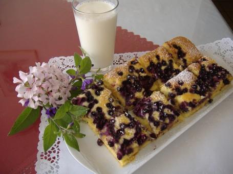 Heidelbeer-Marzipankuchen -  (Foto: Friederike Schmitl - Nicht zur freien Verwendung)