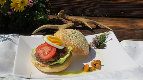 Wildburger -  (Foto: Andrea Schilchegger - Nicht zur freien Verwendung)