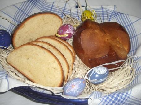 Osterbrot ungesüßt -  (Foto: Eva Maria Lipp - Nicht zur freien Verwendung)
