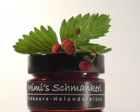 Erdbeer Holler Marmelade -  (Foto: Landwirtschaftskammer Oberösterreich / Tobias Schneider-Lenz - Nicht zur freien Verwendung)