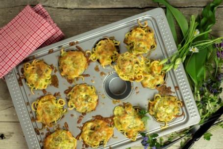 Kräuter-Nudel-Muffins -  (Foto: LK OÖ/Tobias Schneider-Lenz - Nicht zur freien Verwendung)