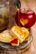 Herz-Buttermilch-Omelett